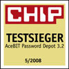 Password Manager ist Testsieger!